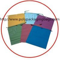 Quality Moisture proof  Drawstring Plastic Bags for Hotel Laundry,pillow, garment, clothes,packaging. for sale