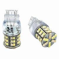 T25 3528 SMD 12v Red LED Turning Light 3157 Dual Color led night light bulb Manufactures