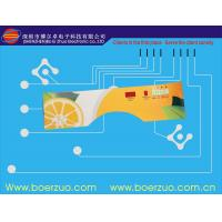 PET Snap Push Button PCB Membrane Switch With Adhesive DT 6100 Manufactures