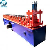 Low Noise Small Rolling Shutter Forming Machine For Shutter Slat With PLC Manufactures