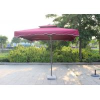 Quality Suspended Rectangular Outdoor Umbrella Bali Style Digital Printed For Villa for sale