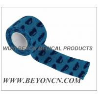 Car Prints Self Adhesive Printed Bandages Athletic Tape For Splint Dressing Fixation Manufactures