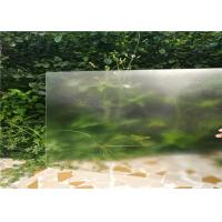 4MM Customized Sizes Low Iron Clear Glass , Solar Energy Glass 91.7% Light Transmittance Manufactures