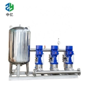 China Stainless Steel Domestic booster pump set Water Pumping set  blue /black color on sale