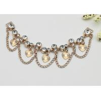 Quality Fashionable Shoe Accessories Chains Elegant Exquisite Environmental Plated for sale