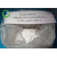 CAS 3381-88-2 Nandrolone Steroid Methyldrostanolone White Powder 98.32% Purity Manufactures