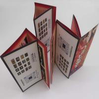 Disposable Custom Folded Leaflets Colour Flyer Printing For Restaurant Publicity Manufactures