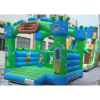Colorful Inflatable Interactive Games Inflatable Bouncer Castle For Children Manufactures