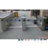 Buy cheap Auto Sensor Supermarket Swing Barrier Gate Door Revolving Entrance Waist High from wholesalers
