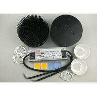 Buy cheap Round pre-drilled d163mm pin fin heat sink + Original CREE XLAMP CXB3590 3500K +150W HLG-120H-C1400B meanwell led driver from wholesalers