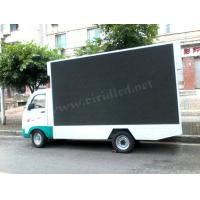 Commercial Mobile Led Display Screen , Led Mobile Advertising Trucks 10 Pixel Pitch Manufactures
