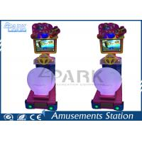 Children Recreation Equipment Racing Game Machine With 22 Inch LCD Screen Manufactures