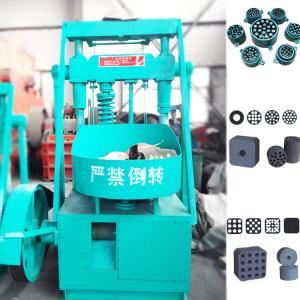 China Model 140 Honeycomb briquette machine charcoal coal briquette press machine honeycomb coal bricks 50pcs per minute on sale