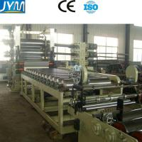 PVC Sheet Calendering Machine , PVC Sheet Making Machine With Customized Length Manufactures