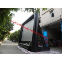 Quality pvc white matt projection screen fabrices inflatable movie screen outdoor movie screen for sale
