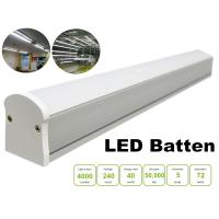 4FT IP20 Warm White LED Batten Lights Fitting Replace 2x36W Fluorescent Lamp Manufactures