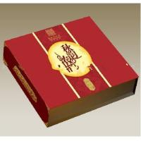 12 * 12 * 3 inch Matte Lamination  Paperboard Chinese Red Moon Cake Packaging Boxes Manufactures