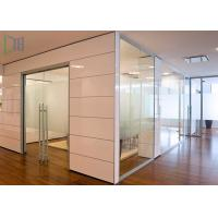 Quality Decorative Glass Panel / Clear Aluminium Office Partition 1.2 - 2.0mm Thickness for sale