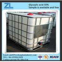 glyoxylic acid 50% with MSDS,CAS NO.:298-12-4 Manufactures