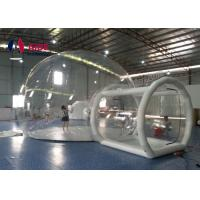 Tunnel Movement Hotel House Clear Bubble Tent / Inflatable Lawn Tent