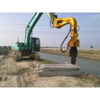 Excavator Mounted Mini Integrated Vibratory Pile Hammer Construction Equipment Manufactures