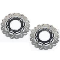 6061 Aluminum Motorcycle Brake Disc Suzuki DL V STROM 650 GSX650F Black Gold Manufactures