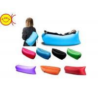 Waterproof Nylon Material Inflatable Sleeping Bags Easy Carry For Camping And Hiking Manufactures