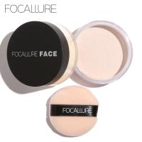 Focallure Professional Beautiful Three Colors Choice Face Cosmetics Makeup Loose Powder Manufactures