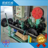 Positive And Negative Twist Razor Barbed Wire Machine With High Production Manufactures