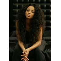 China Silky Straight Long Indian Curly Human Hair , Tangle Free Real Hair on sale