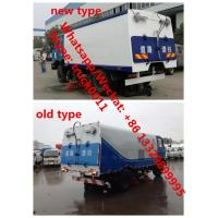 Year-End Promotion! China made dongfeng 190hp diesel 3.5m3 water tank+7.2m3 dust tank street sweeeping vehicle for sale, Manufactures