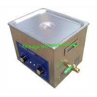 Industrial Ultrasonic Cleaning Machine / Benchtop Ultrasonic Cleaner 14L 40KHz Manufactures