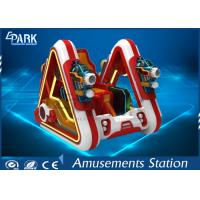 Amusement Park Racing Game Simulator Electronic Star - Craft Fighting Car Manufactures