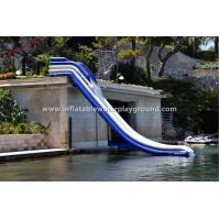 Quality Amazing Largest Garden Inflatable Water Slide Rentals Of 0.9mm PVC Tarpaulin for sale