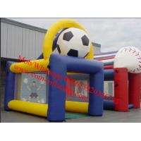 World Cup Soccer Inflatable goal Inflatable Goal Kick Fantasy Inflatable Soccer Game Goal Manufactures