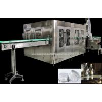China Durable Soda Plant Isobaric Beer Washing Filling Capping Machine / Equipments on sale
