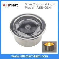 Quality Round LED Accent light Solar Powered Marker Lights Swimming Pool Edge Lights for sale