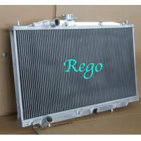 High Polished Aluminum Car Radiators , 03 - 07 AT Honda Accord Car Radiator Manufactures