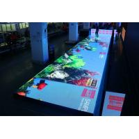 Outdoor P4.81 Interactive Led Floor Screen With Radar Touch System Manufactures