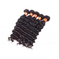 Soft Clean Virgin Indian Curly Hair 100% Unprocessed No Shedding Long Lasting Manufactures