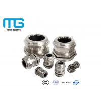 IP68 Cable Accessories Electrical Nickel Plated Brass Metal Cable Gland Manufactures