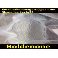 Cutting Fat Boldenone Steroids / 1-Dehydrotestosterone Cas 846-48-0 White Crystalline Powder Manufactures