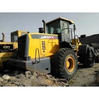 Yellow Large Wheel Loaders , Front Wheel Loader Side Dump Bucket Manufactures