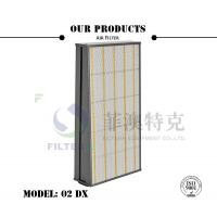 300Pa Initial Resistance Flat Panel Filter For Gas Turbine Air Inlet AAF 02 DX Model Manufactures