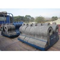 Cr - Mo Alloy Steel Impact Plates For Impact Crusher Wear Parts DF046 Manufactures