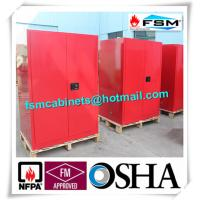 Steel Venting Flammable Storage Cabinets For Laboratory Paint And Inks Manufactures