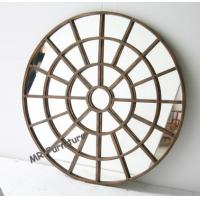 Contemporary Metal Metal Mirror Wall Decor Strong Durable Material Manufactures