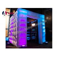 Customized Logo Print Photo Booth Inflatable Square Home Photography Studio Manufactures