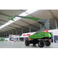 Anti corrosion 88ft 27m load capacity 360kg Telescopic Straight Boom lift for construction Manufactures