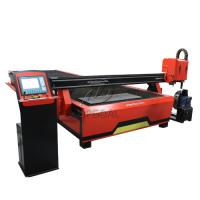 2060 CNC Steel Sheet & Steel Pipe Plasma Cutting Drilling Machine with Rotary Axis/200A Hypertherm Plasma Power Supply Manufactures